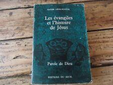 RELIGIEUX LES EVANGILES DE L'HISTOIRE DE JESUS LEON-DUFOUR