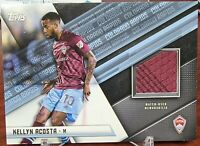 2021 Topps MLS Kellyn Acosta Match Game Used Relic Jersey Colorado Rapids