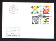 SCOTT# 934-937 Switzerland Swiss '1993 Works of Art' Issue FDC Helvetia Envelope