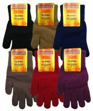 Ladies Womens Girls Thermal Acrylic Spandex Knitted Warm Winter Gloves Xmas Gift