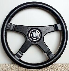 NARDI Personal Fittipaldi ULTRA RARE leather steering wheel BMW E3 E9 Porsche