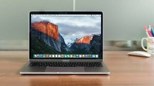 """Apple MacBook Pro 13.3"""" Silver Core i5 2.3Ghz 8GB 128GB 2017 Warranty Ms Office"""