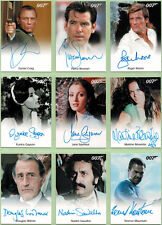 James Bond Archives 2014 Ultimate Master Set with 53 Autograph Cards