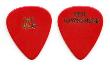 The Who Pete Townshend Red Guitar Pick - Early 1990s Tours