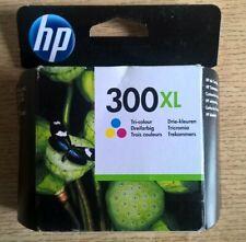 Original HP 300XL Tri-Color Cartucho de tinta-fecha de vencimiento 06/2020