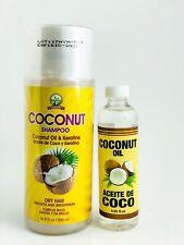Shampoo Y Aceite de Coco Coconut Oil Hecho en Mexico keratine