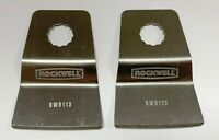 2 NEW ROCKWELL SONICRAFTER RIGID SCRAPER BLADES RW9113 BLADE