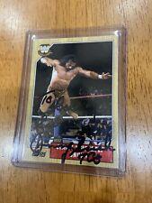 WWF WWE 2007 Topps Card Signed Superfly Jimmy Snuka