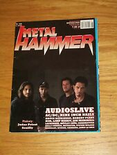 Metal Hammer magazine 6 2005 Audioslave on cover * Judas Priest * AC/DC Soulfly