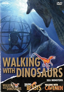 BBC DVD DOCUMENTARY-WALKING WITH DINOSAURS: SEA MONSTERS DVD NEW
