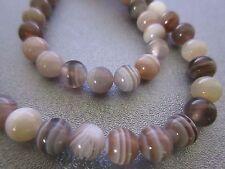 Botswana Agate Round 6mm Beads 64pcs