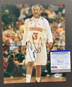 Candace Parker Signed Autographed 8 By 10 Photo Psa Coa Rare VOLS