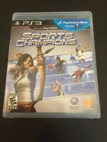 PS3G504 Sports Champions (Sony PlayStation 3, 2010) GET IT FAST!!!
