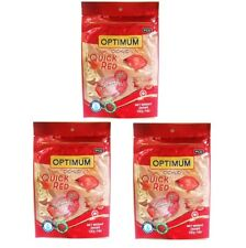 Optimum Cichlid Flowerhorn Fish Food Quick Red Reddening S Floating Pellet 100g