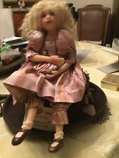 Julia Rueger-Meagans Hat Doll-Resin Unique Artist Ca. Native+THANK U GIFT MINT