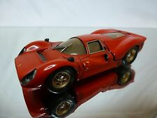 CAR 1 METAL KIT (built) FERRARI 330 P4 - RED 1:43 - GOOD CONDITION