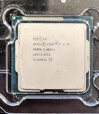 Intel Core i7-3770 3.4 GHz CPU up to 3.90 GHz Processor 8M Cache LGA1155 5.0GT/s