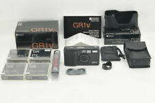*NEAR MINT in BOX* Ricoh GR1v Date w/ Leather cover, Filters from Japan #3949