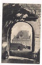 st-aignan ,  porche et façade ouest du château