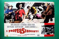 T06 Fotobusta I Fachleute Burt Lancaster Lee Marvin Claudia Cardinale 2