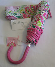 Vera Bradley PINWHEEL PINK Umbrella LARGE POP OPEN for PURSE Tote BACKPACK NWT