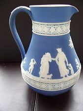 Wedgwood Blue jasper dip Water Jug in excellent condition..