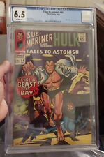Tales To Astonish #84 Cgc 6.5 Off White Pages * SUB-MARINER AND THE HULK (1966)