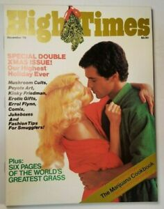 HIGH TIMES SPECIAL DOUBLE ISSUE VINTAGE DEC 1979 MARIJUANA MAGAZINE WEED 420 N/M