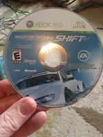 Need for Speed: Shift (Microsoft Xbox 360, 2009)  DISC ONLY