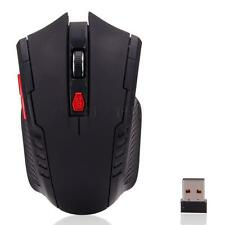 6 Buttons 2400 DPI 2.4GHz Wireless USB Receiver Optical Mouse Mice for Laptop PC