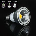 E27/E14/GU10 5W LED LAMPADA LAMPADINA FARETTO ALTA POTENZA ROTONDI DAY