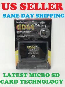 340 in 1 ED64 Plus Game Cartridge USA JAPAN EUROPE Nintendo 64 N64 GAMES 16GB
