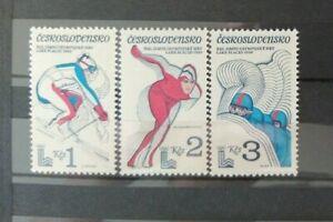 CSSR 1980 Olympische Spiele Lake Placid MiNr2544-2546 **/MNH/Postfrisch
