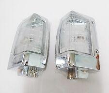 FRONT CHROME CORNER LIGHT INDICATOR FOR NISSAN NAVARA D21 HARDBODY 93-97 BDI 925