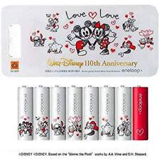 SANYO Disney Mickey Minnie Eneloop AA Battery Pro Recharge Batteries HR-3UTGB8DL