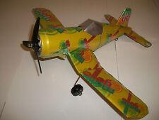 Aluminum soda can handcaft airplane/MELLOW YELLOW/CORSAIR