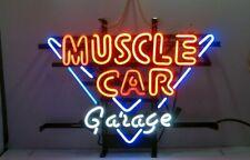 "New Muscle Car Garage Bar Cub Party Light Lamp Decor Neon Sign 17""x14"""