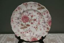 Vintage Johnson Brothers Entree / Small Dinner Plate - Rose Chintz - Vgc