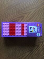 LEGO FRIENDS Buildable SOLID PENCIL CASE + Stickers BRAND NEW