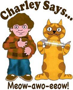 Charlie Charley Says 1980s 90s Rave Techno Dance 80s Hardcore kids TV Tshirt
