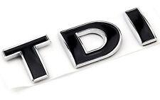 Audi A3 A4 A6 A7 TT Q5 R TDI Trunk Hatch Badge Emblem Decal Logo Chrome Black VW