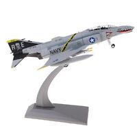 F-4 Phantom Fighter Diecast Air Intercception Aircraft Model Toy Model 1/100