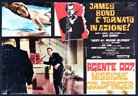Fotobusta Goldfinger James Bond 007 Sean Connery Fleming C T116