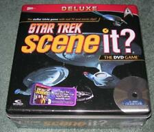 STAR TREK DELUXE EDITION DVD GAME IN COLLECTOR TIN NEW