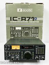 Icom IC-R71A Receiver Shortwave AM SSB CW Radio *2 EXTRA FILTERS & PIEXX UPGRADE