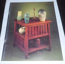 ARTS & CRAFTS IN CHICAGO III October 2, 1988 Pottery & Furniture