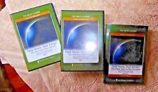 LOT 4 DVD'S + BOOK DARK MATTER DARK ENERGY UNIVERSE GREAT COURSES CALTECH