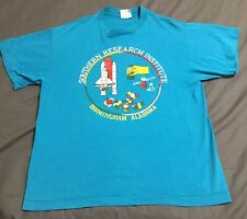 Vintage 80s Southern Research Institute Birmingham Alabama T-Shirt Large Science
