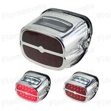 LED Brake Tail Light License Plate Lamp For Harley Sportster 883 1200 XL XLH