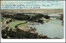 Philadelphia USA Postcard 1907 Totale View to Fairmount Park Amerika America Pc.